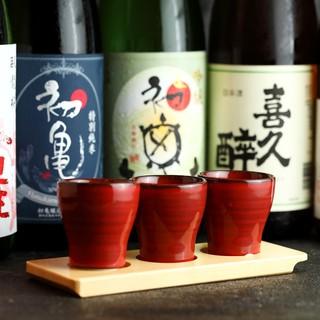 【NEWOPEN記念】10種から選べる地酒サービス!