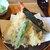 京うどん 生蕎麦 岡北 - 料理写真:天ぷらそばの天ぷら