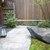 京うどん 生蕎麦 岡北 - 外観写真:素敵な中庭