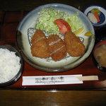 養気亭 - ひれかつ定食(1,300円)