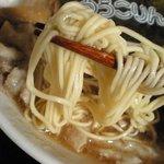 イベリコラーメン 小倉優子 - 麺