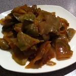 安泰楼 - 搾菜、ピリ辛で美味しい、ザーサイは、お店によって特徴があります。