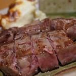 11680400 - 黒毛和牛ロースステーキ(ミディアム)