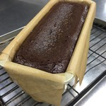 濃厚オーガニックチョコレートのテリーヌ、マロンアイス