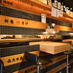 魚武酒場 - テーブル