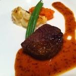 ステーキ&シーフード ボストン - オーストラリア産牛フィレ肉のステーキ