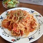 オッサ - 【ランチ】渡り蟹のトマトクリームパスタ