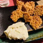 hanasaku - クリームチーズのシャキシャキわさび和え