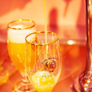 自社輸入&自社醸造樽生クラフトビール【全20種】ご提供