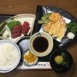 ばば天 - 天ぷら定食
