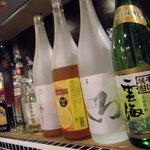 マゴコロ - 珍しいお酒もあります。