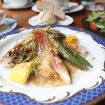 シークレット レストラン カメ - 料理写真:ランチセット
