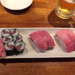 116827250 - マグロ寿司セット 980円税抜