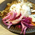 テレット - 豚キーマカレーの副菜群