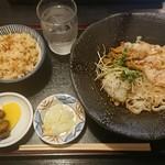 きしめん 尾張屋 - きしめんセット¥680-