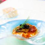 ウニ専門レストラン  unico-co - 旨味の詰まったトマトソースに、ストラチャテッラチーズ