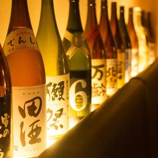 蔵元から直送される厳選の日本酒!