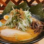 麺家 麺四郎 - 料理写真:和風白神ねぎ味噌 + 海苔
