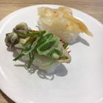かっぱ寿司 - 今回のヒット☆蒸し牡蠣と石垣貝