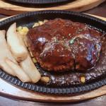 熟成肉バル 神保町style - 鉄板ハンバーグ