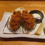 鎌倉かつ亭 あら珠 - ♦︎牡蠣フライ2個 440円