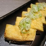 蕎麦・鮮魚 個室居酒屋 村瀬 - 栃尾揚げ