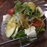 116836499 - 豆腐サラダ(400円)