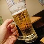 一軒め酒場 - 生中