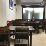 香美園 - 初めて座った席から見た店内風景(2019.10.3)