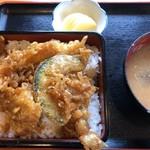 朝日屋食堂 - 料理写真:天丼