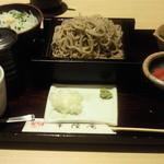 11684172 - せいろどばと白魚丼セット(臨時)