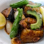 シノワプープールー - 和牛ささみ肉と夏野菜の麻婆炒め