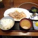 Kiguradiya - ロース生姜焼き定食