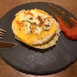kitchen fumi - 焼きチーズリゾット(540円)+ブルーチーズトッピング(100円)