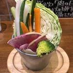 肉料理 Vin de Kitchen - 最初にでてきたサラダ