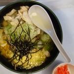 クイーンコーラル - 料理写真:鶏飯