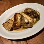 コジコメ - ポルチーニ茸のにんにくバターソテー