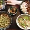 神山 - 料理写真:スダチ蕎麦とカレー