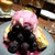ESPRESSO D WORKS - その他写真:ぶどうのパンケーキ