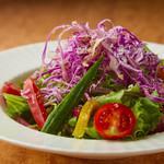 菜園風サラダ