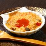 越前ガニ・海鮮丼料理 みくに隠居処 - 料理写真:濃厚!蟹グラタン