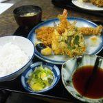 天婦羅 多から家 - 天ぷら定食 特