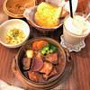 茶豆珈琲 - 料理写真:ちゃまめシェイクとボルシチランチ