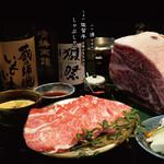 しゃぶしゃぶ SUMIKA - 料理写真:良い酒を飲み