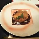 116861487 - 地鶏カツ~デミグラスソース ♪