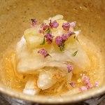 東山 吉寿 - 料理写真:岡山県産の渡り蟹