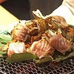 東山 吉寿 - 甘鯛(グジ)の松茸巻き