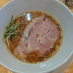 中華そば煮干しや - 料理写真:9/17~2ヶ月限定  サバ旨味塩そば(850円)