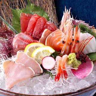 ◆産地直送の新鮮魚介◆九州や三陸より旬の魚をご用意!