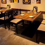 間蔵 - テーブル